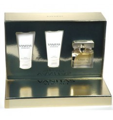 VERSACE VANITAS EDT 50 ML SPRAY + BODY LOTION 50 ML + GEL 50 ML
