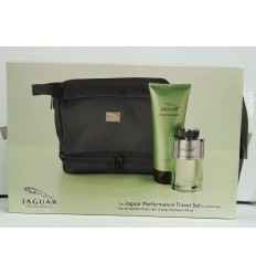 JAGUAR PERFORMANCE TRAVEL SET EDT 75 ML SPRAY + HAIR&BODY 200 ML + NECESER