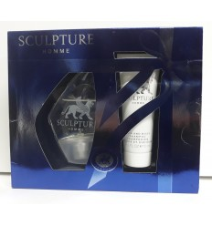 NIKOS SCULTURE HOMME EDT 50 ML SPRAY + GEL&CHAMPÚ 75 ML