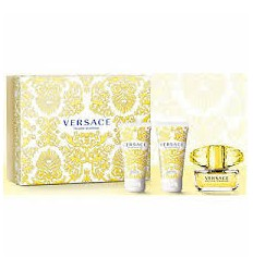 VERSACE YELLOW DIAMOND EDT 50 ML SPRAY + GEL 50 ML + BODY MILK 50 ML
