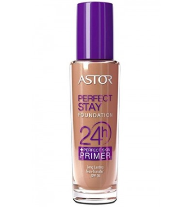 ASTOR PERFECT STAY FOUNDATION 24H + PERFECT SKIN PRIMER 203, 30 ML