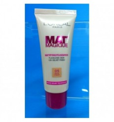 L'ORAL MAT MAGIQUE 12H MATTE 05 BEIGE CREAM 25ml