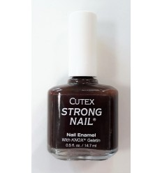 CUTEX ESMALTE DE UÑAS STRONG NAIL DEEP CHOCOLATE 80010 14,7 ML