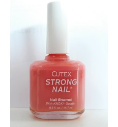 CUTEX ESMALTE DE UÑAS STRONG NAIL SOFT CORAL 80022 14,7 ML