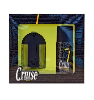 CRUISE HOMME EDT 75 ML SPRAY + DEO SPRAY 150 ML