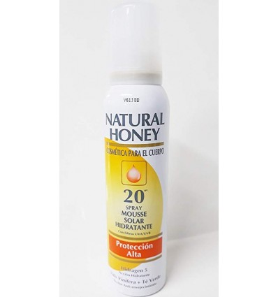 NATURAL HONEY MOUSSE SOLAR HIDRATANTE SPF 20 150 ML
