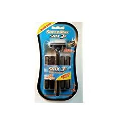SUPER MAX SMX3 3 HOJAS MÁQUINA + 10 RECAMBIOS