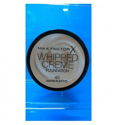 Max Factor Whipped Creme Maquillaje 45 Warm Almond 18ml