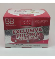 NATURAL HONEY BB BODY CREAM P/SECA 250 ml + PULSERA