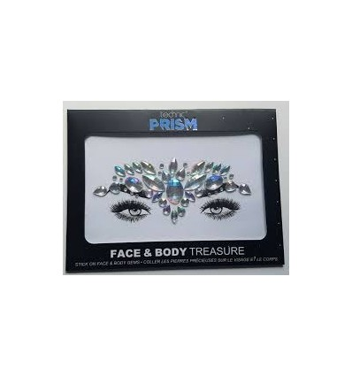 Technic Prism Face & Body Treasure Stick on Gems Festival Party Jewels