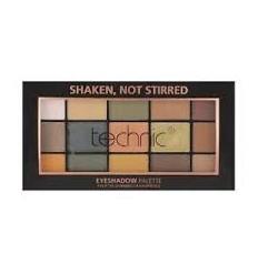 Technic Cosmetics - Paleta de sombras - Shaken, not stirred