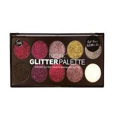 Technic Cosmetics - Pressed Glitter Palette - Unicorn Uniform!