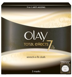 OLAY TOTAL EFFECTS PACK 3 MASCARILLAS FACIALES