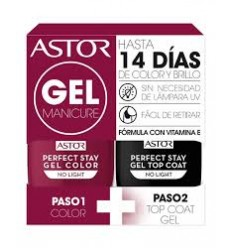 ASTOR 103 gel manicure pack duo esmaltes de uña 6 ml + 6 ml