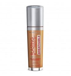 RIMMEL LASTING FINISH BREATHABLE SPF 18 504 DEEP MOCHA 30 ML MAQUILLAJE FLUIDO