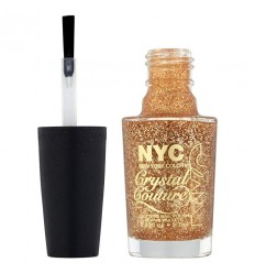 NYC CRYSTAL COUTURE GLITTER ESMALTE 011 FASHION QUEEN 9,7 ML