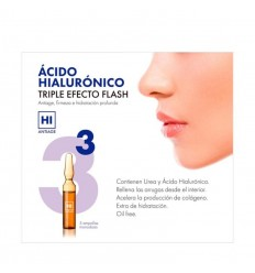 HI ANTIAGE ÁCIDO HIALURÓNICO 5 AMPOLLAS FLASH 2 ml