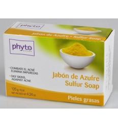 PHYTO JABÓN DE AZUFRE PARA PIELES GRASAS ACNÉ 125G