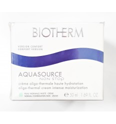 BIOTHERM AQUASOURCE NON STOP CREMA FACIAL OLIGO TERMAL HIDRATACION PIEL NORMAL/MIXTA 50 ml