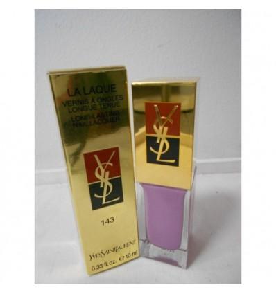 YSL La Laque Long-Lasting N 143 Mauve Popeline Esmalte de uñas