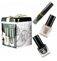 Max Factor Lata + Mini Masterpiece Mascara Black + Mini Nailfinity Boji + Mini Nailfinity Onyx