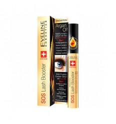 EVELINE SOS LASH BOOSTER SERUM ARGAN OIL PESTAÑAS 5 EN 1 10ML