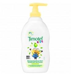 TIMOTEI KIDS CHAMPÚ 2 EN 1 SIN TIRONES 0% SILICONAS 400 ml